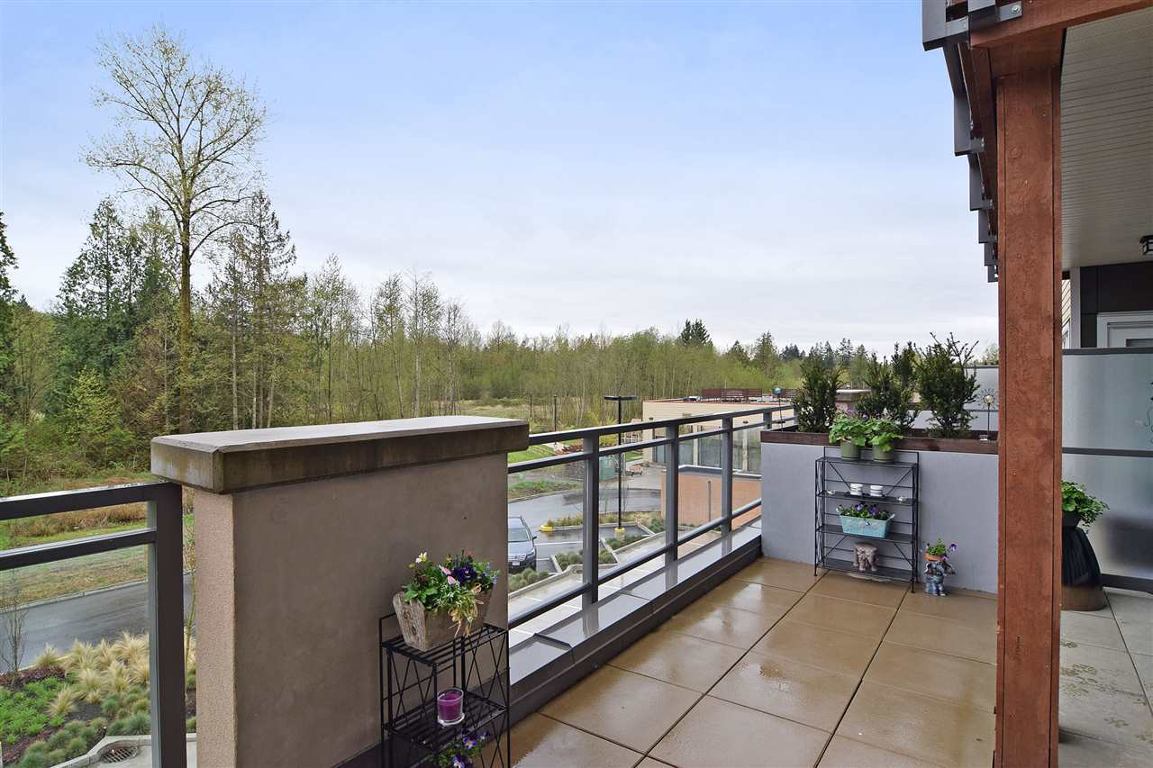 patio-use at 222 - 20728 Willoughby Town Centre Drive , Willoughby Heights, Langley