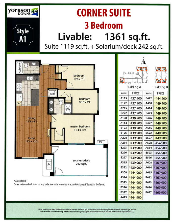 floor-plan-1 at A214 - 20716 Willoughby Town Centre Drive , Willoughby Heights, Langley