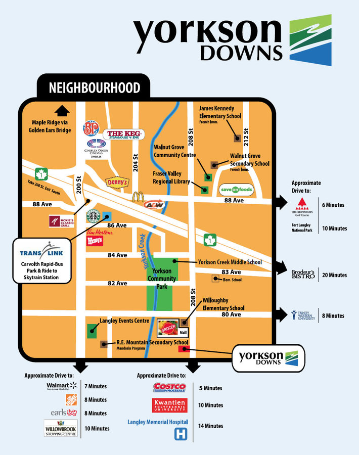 map-1 at A214 - 20716 Willoughby Town Centre Drive , Willoughby Heights, Langley