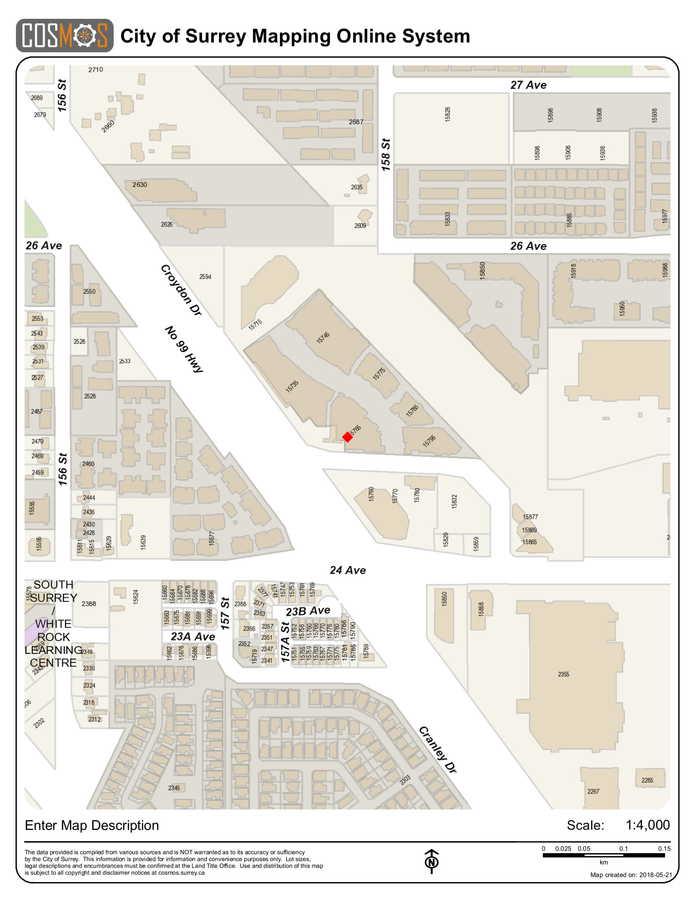 legal-map-1 at 416 - 15765 Croydon Drive, Grandview Surrey, South Surrey White Rock