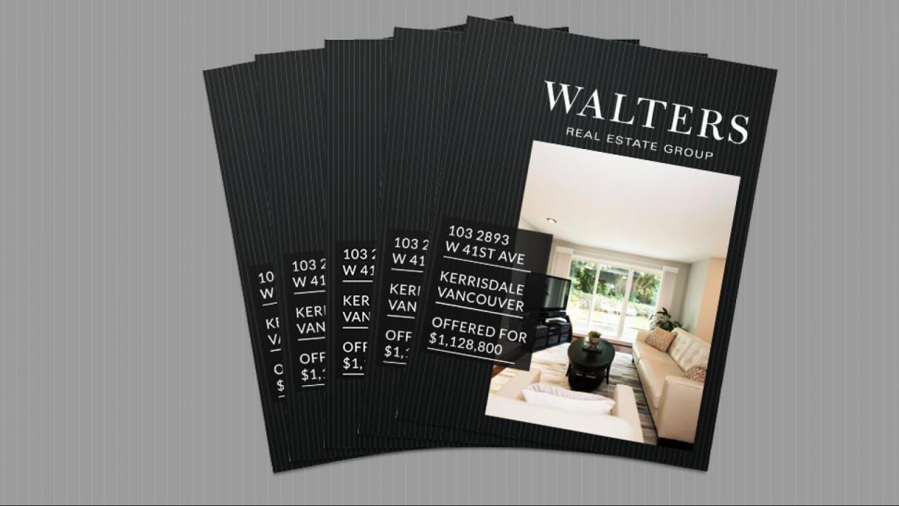 Premium Property Brochures