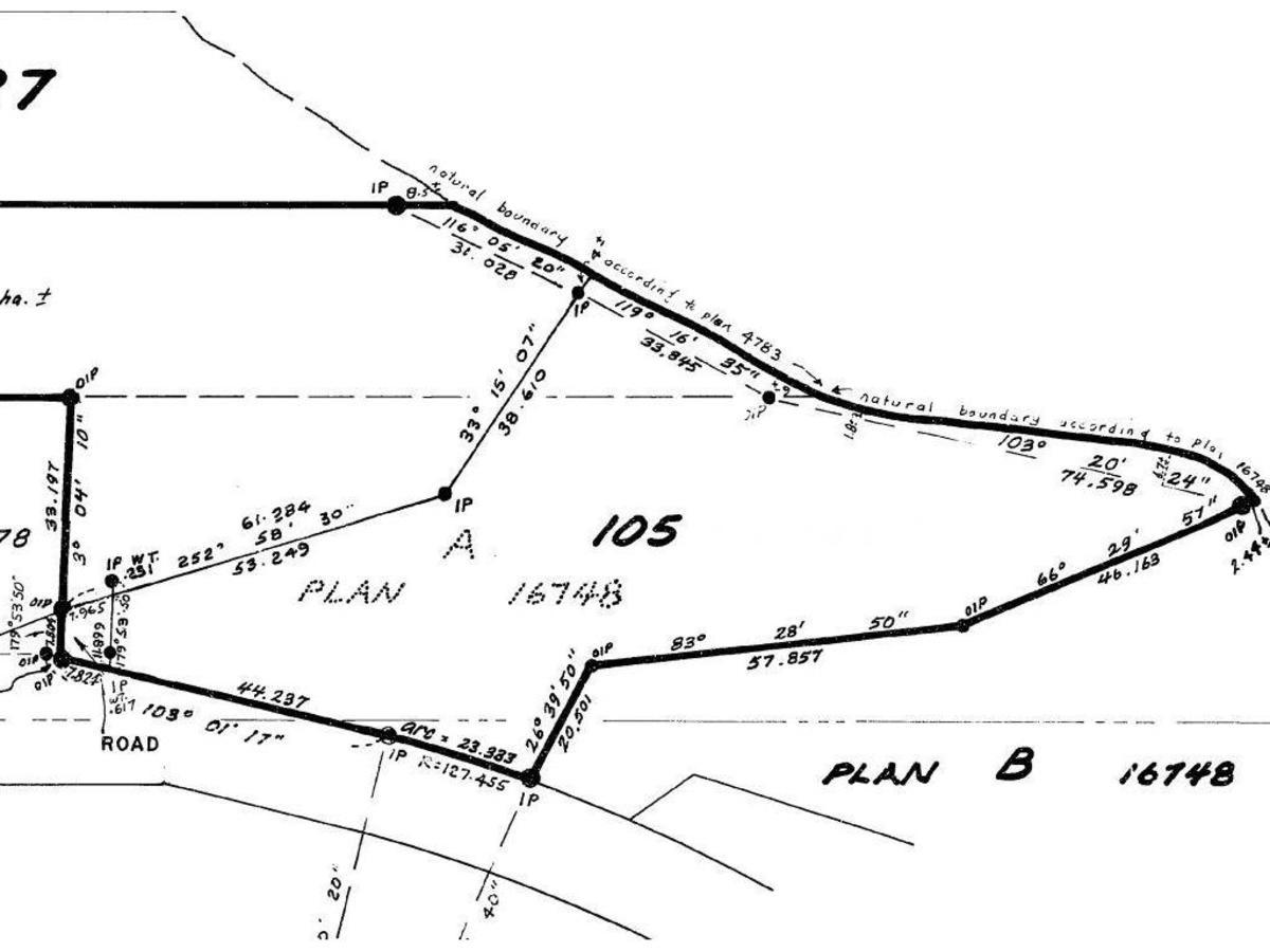 lot-plan at 5830 Marine Way, Sechelt, Sunshine Coast