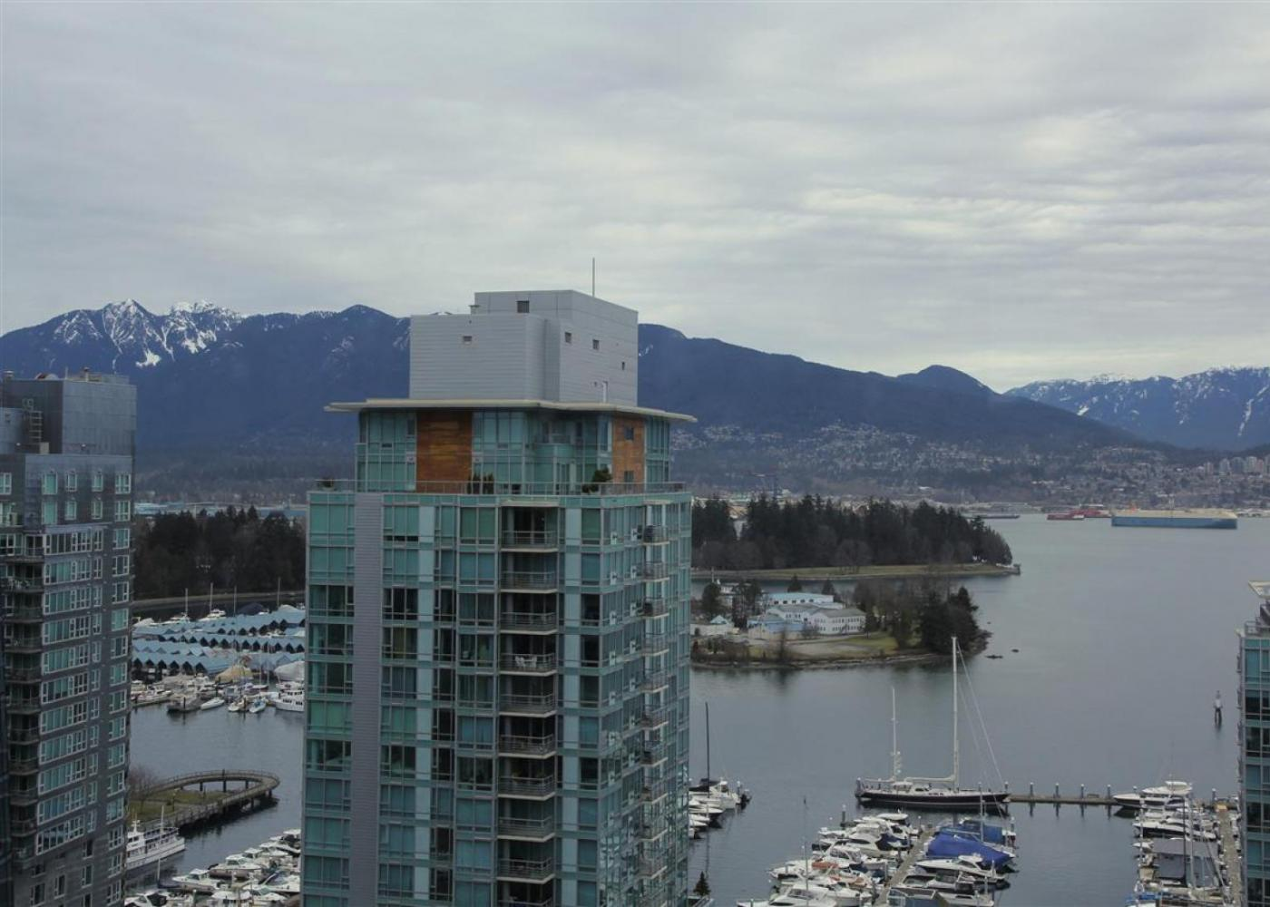 1801 - 1415 W Georgia Street, Coal Harbour, Vancouver West