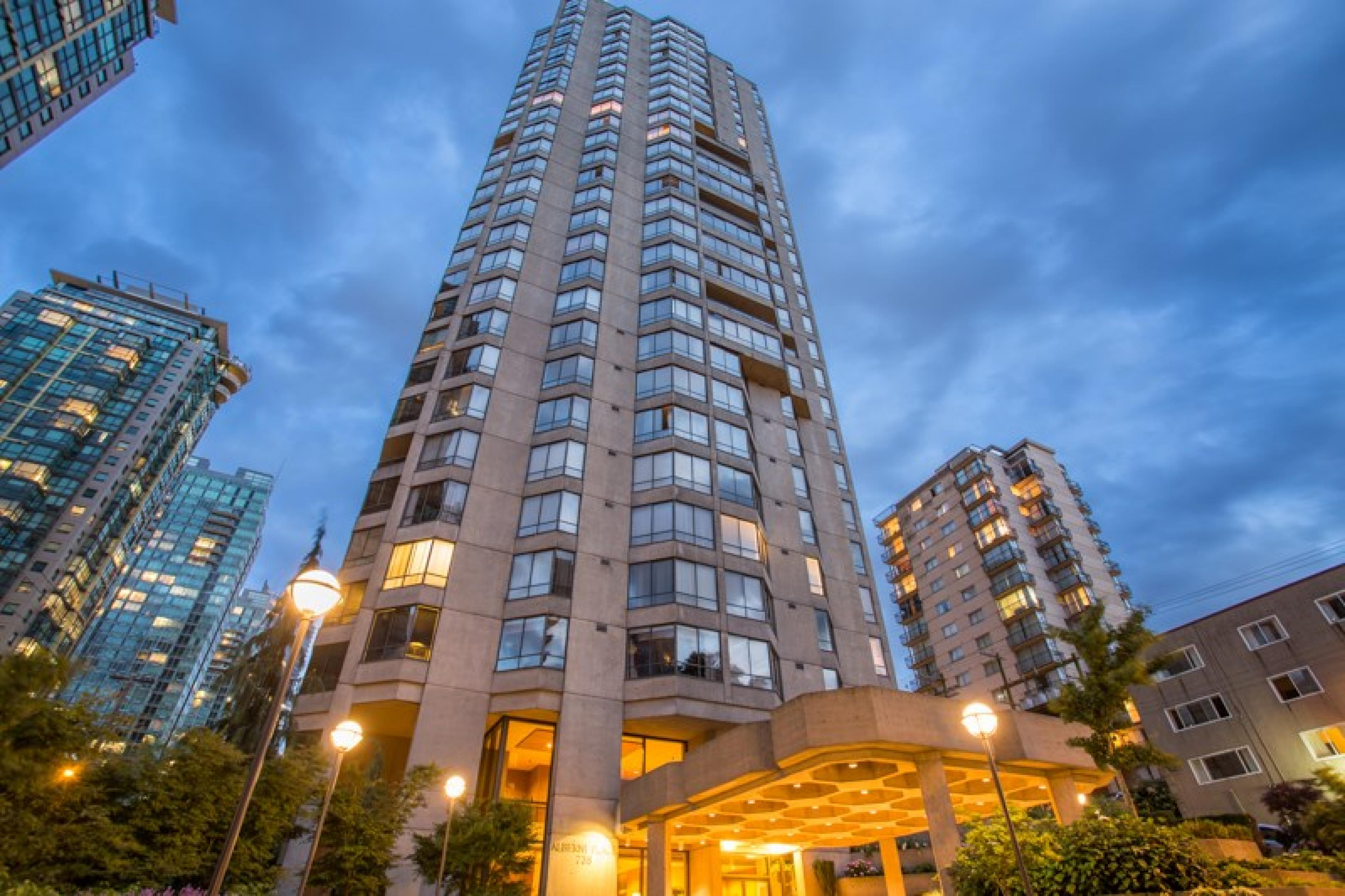 1402 - 738 Broughton Street, West End VW, Vancouver West