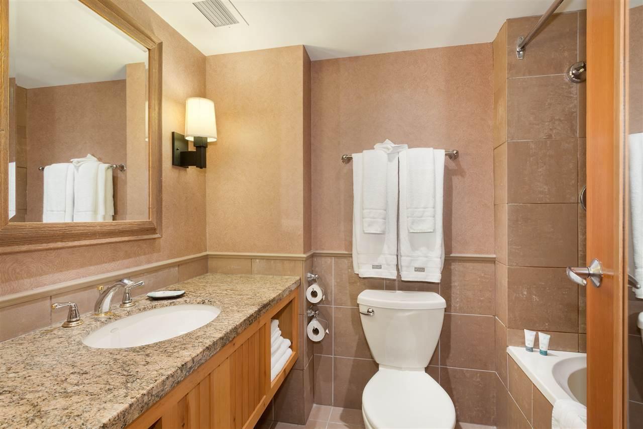 4090 Whistler Way Bathroom at 575 - 4090 Whistler Way, Whistler Village, Whistler