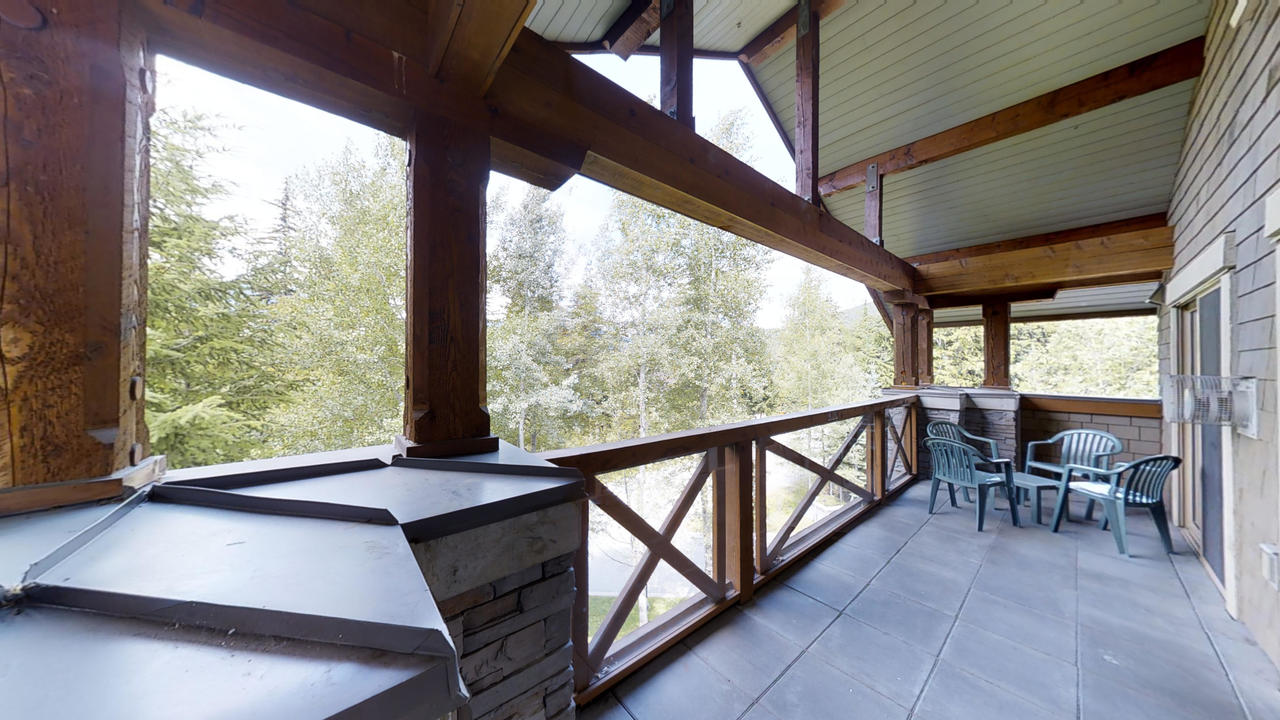 304 G3 Horstman House Balcony at 304 G3 - 4563 Blackcomb Way, Benchlands, Whistler