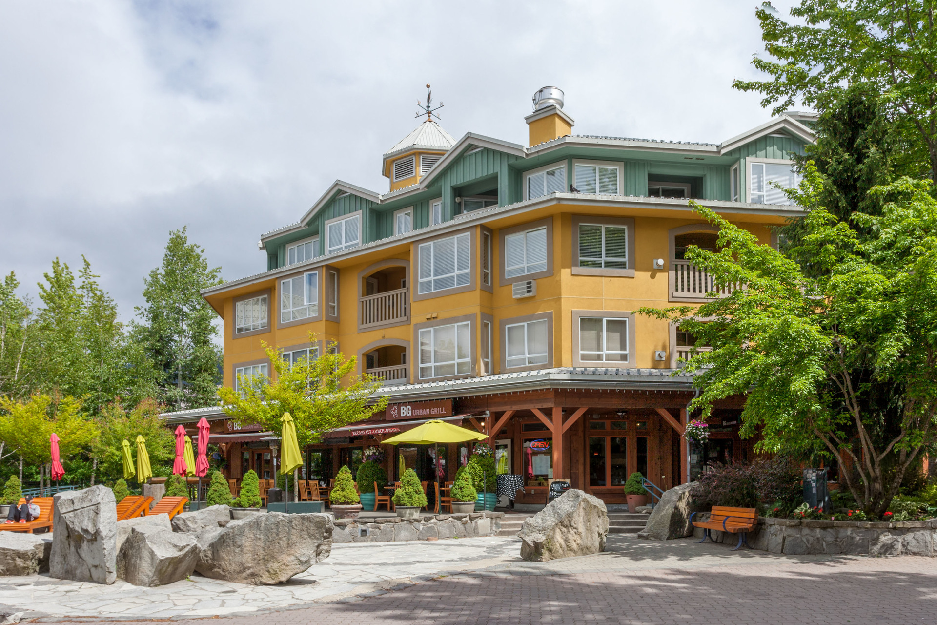 1 at 408 - 4314 Main Street, Whistler Village, Whistler