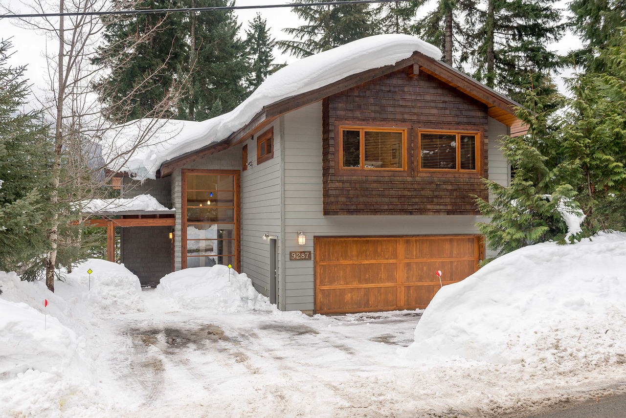 Front at 9287 Emerald Drive, Emerald Estates, Whistler