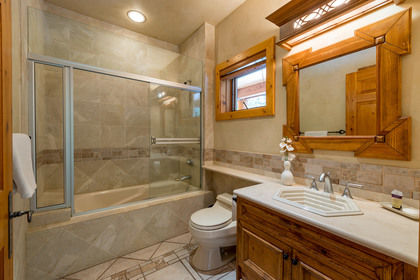 Bathroom at 2745 Millar's Pond Crescent, Bayshores, Whistler