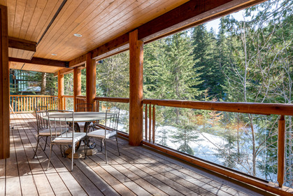 Lower Deck at 2745 Millar's Pond Crescent, Bayshores, Whistler