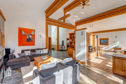 Living Area at 2745 Millar's Pond Crescent, Bayshores, Whistler