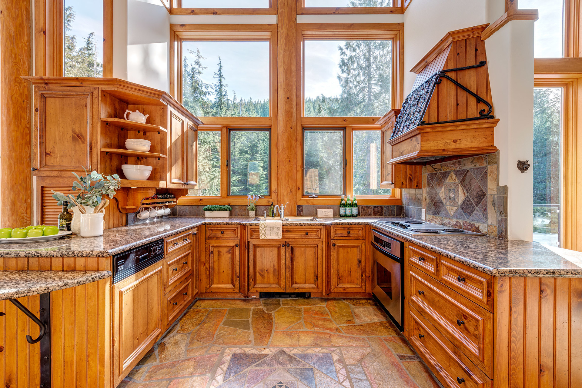 Kitchen at 2745 Millar's Pond Crescent, Bayshores, Whistler