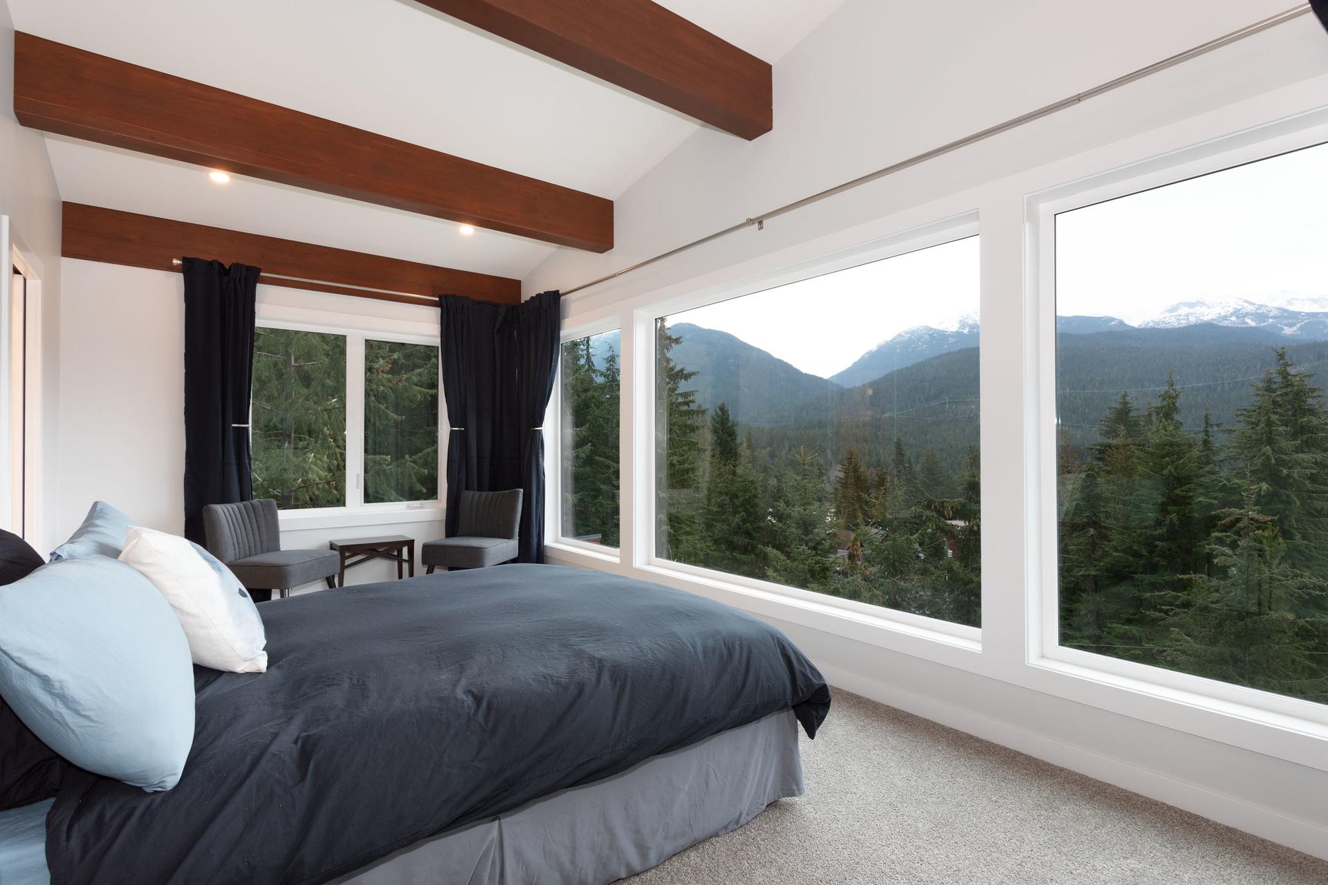Master Bedroom at 9331 Emerald Drive, Emerald Estates, Whistler