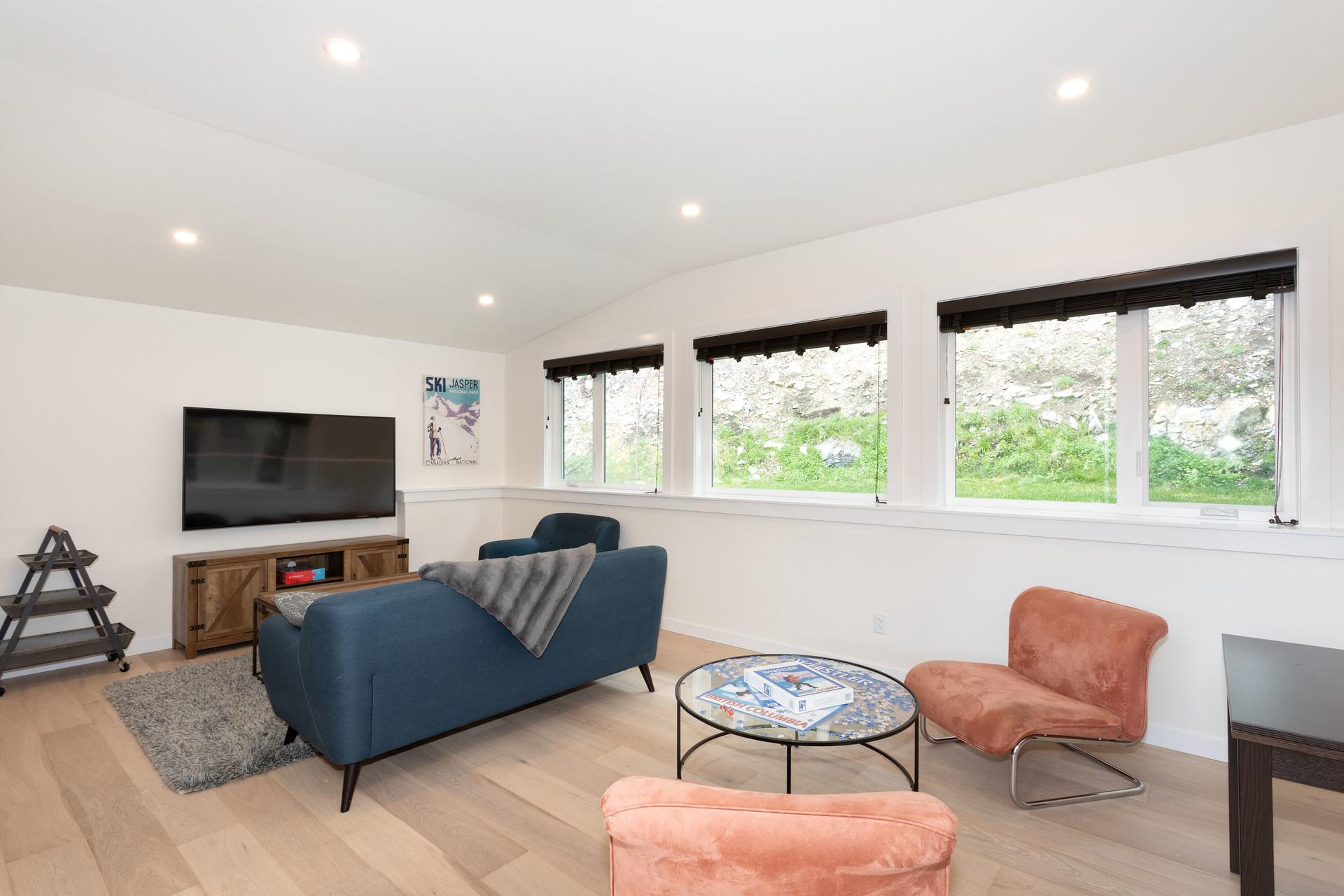 Family Room at 9331 Emerald Drive, Emerald Estates, Whistler