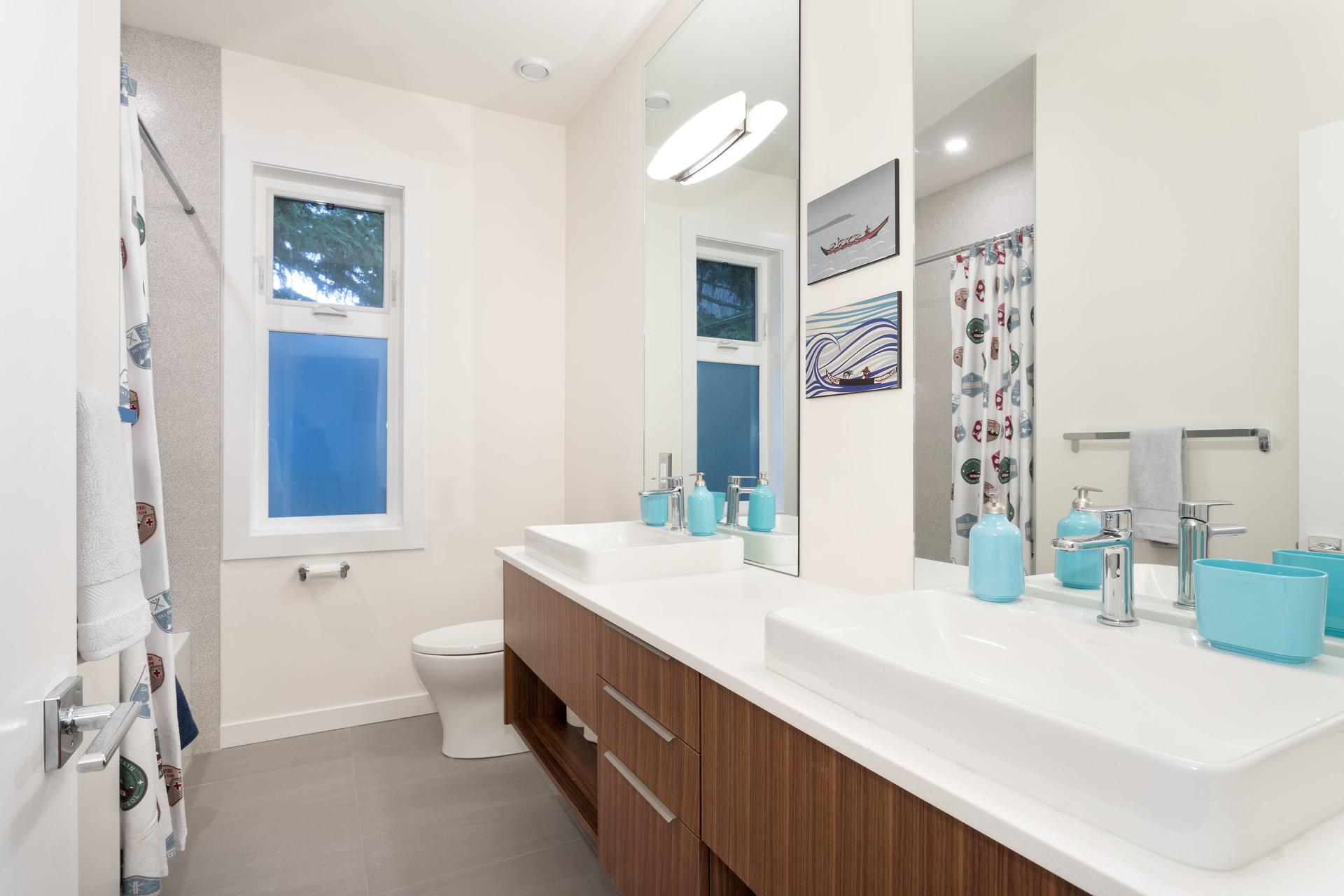 Bathroom at 9331 Emerald Drive, Emerald Estates, Whistler