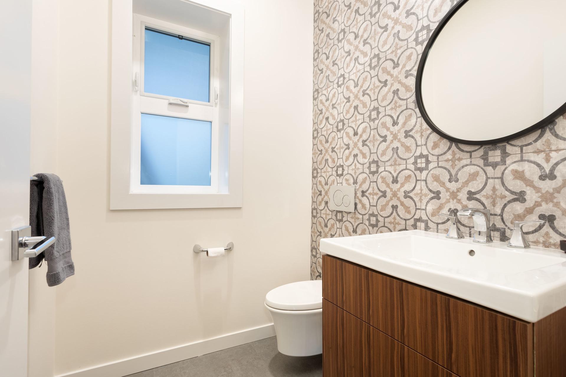 Powder Room at 9331 Emerald Drive, Emerald Estates, Whistler