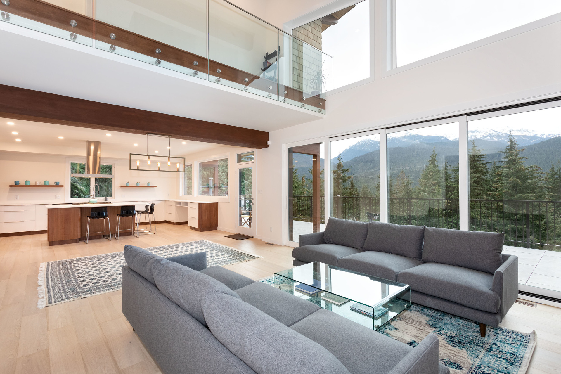 Living Area at 9331 Emerald Drive, Emerald Estates, Whistler