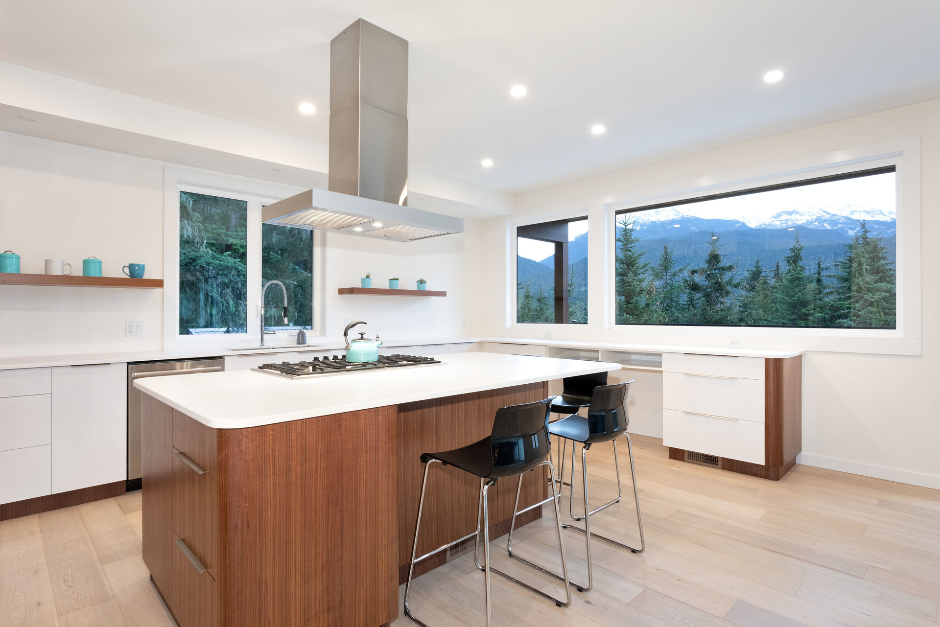 Kitchen at 9331 Emerald Drive, Emerald Estates, Whistler