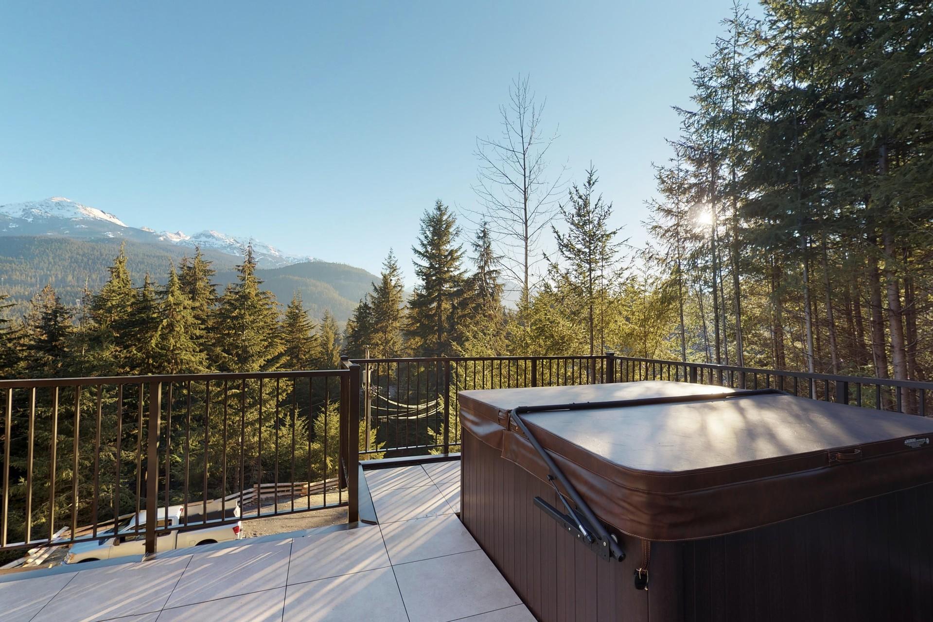 Hot Tub at 9331 Emerald Drive, Emerald Estates, Whistler