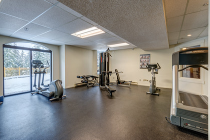Exercise Room at 102 - 4809 Spearhead Drive, Benchlands, Whistler