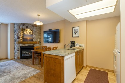 Kitchen at 102 - 4809 Spearhead Drive, Benchlands, Whistler