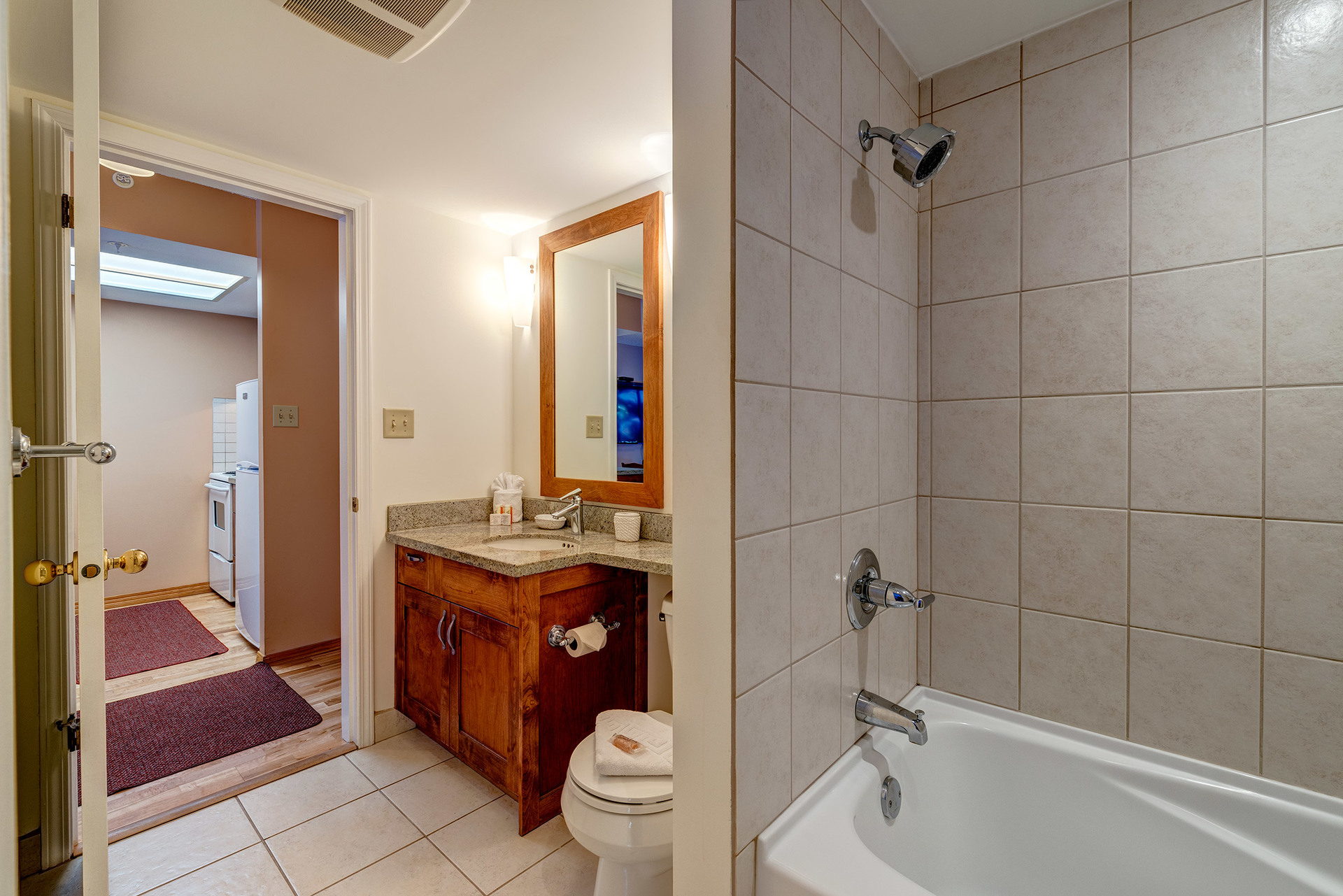Bathroom at 102 - 4809 Spearhead Drive, Benchlands, Whistler
