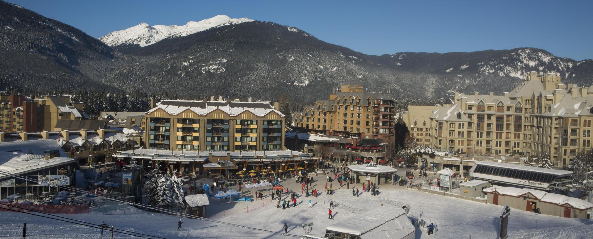 how to get from whistler village to blackcomb