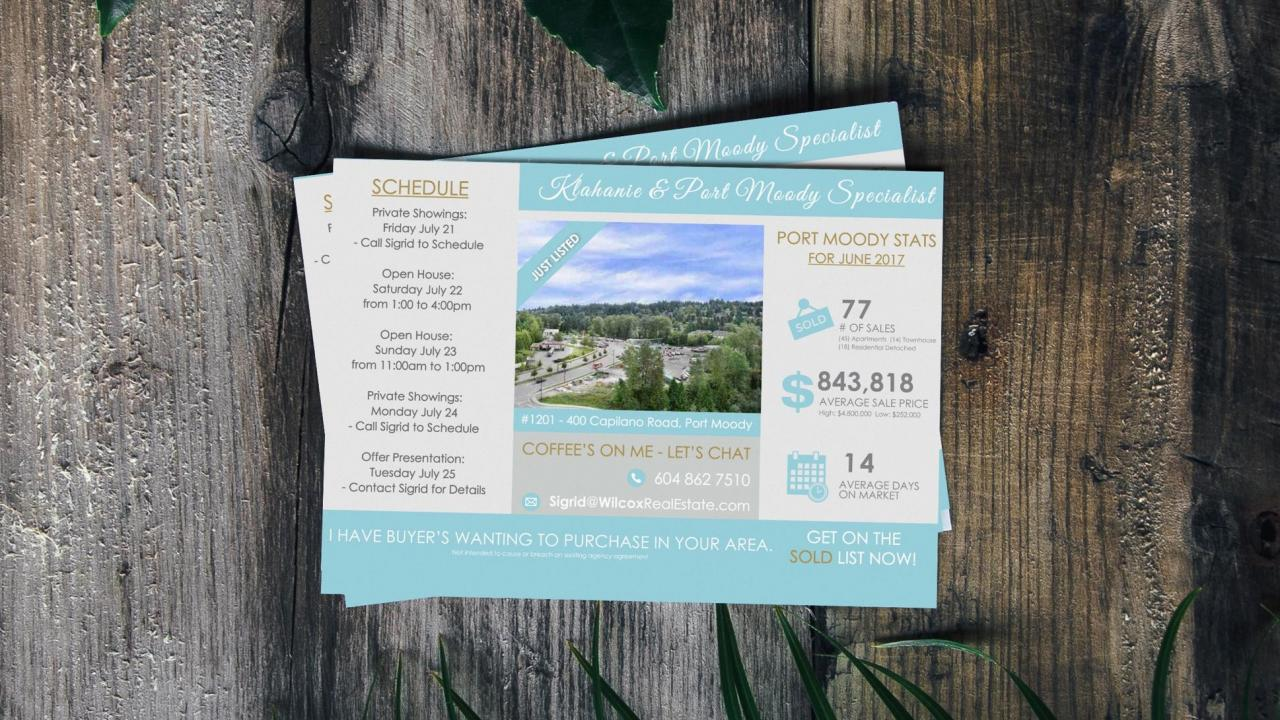 Premium neighbourhood mailouts