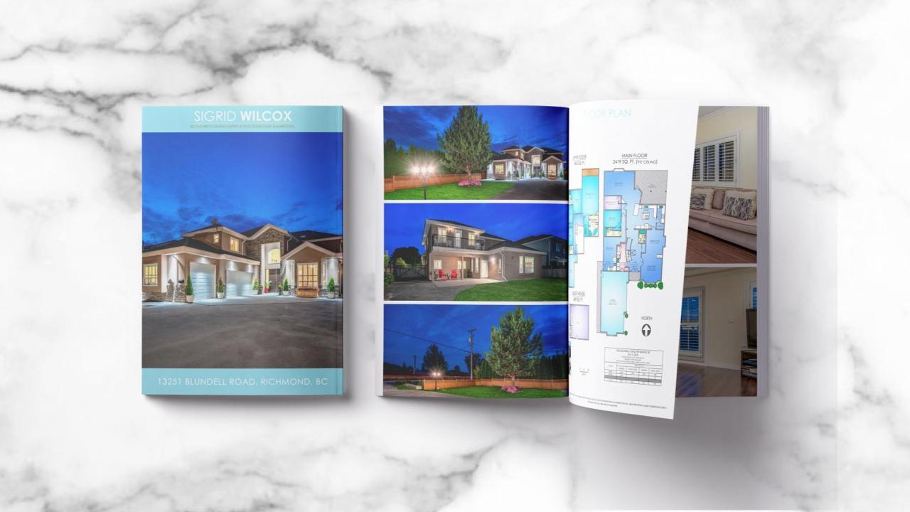 Elegant Property brochures