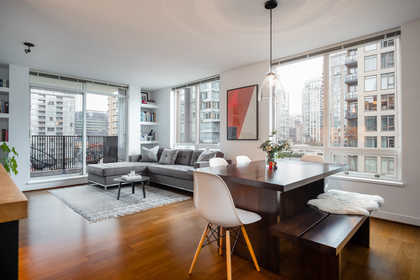 07 at 1305 - 1055 Homer Street, Yaletown, Vancouver West