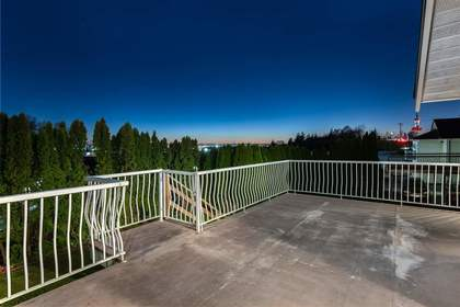Deck at 6060 Marine Drive, Big Bend, Burnaby South
