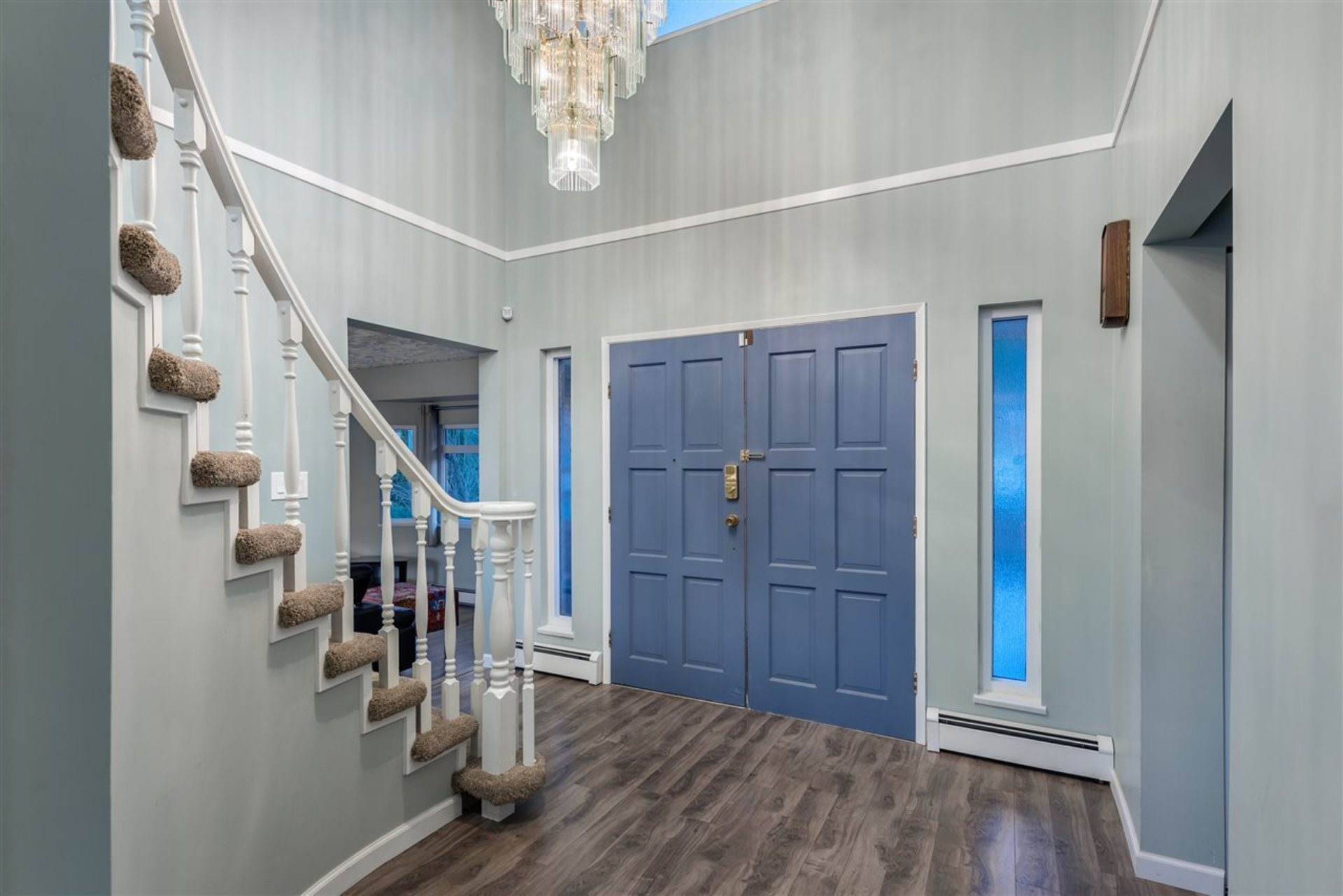 Foyer at 6060 Marine Drive, Big Bend, Burnaby South