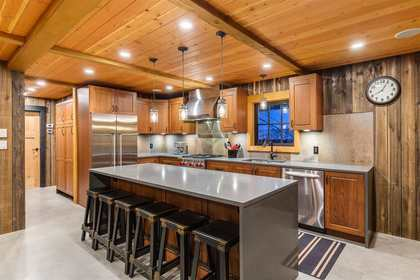 Kitchen at 8232 Rainbow Drive, Alpine Meadows, Whistler