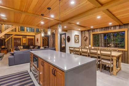 Kitchen & Dinning Room at 8232 Rainbow Drive, Alpine Meadows, Whistler