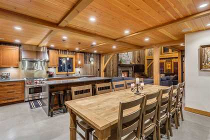 Dinning Room at 8232 Rainbow Drive, Alpine Meadows, Whistler