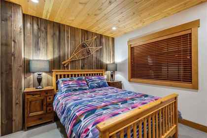 Bedroom at 8232 Rainbow Drive, Alpine Meadows, Whistler