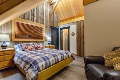 Master Bedroom at 8232 Rainbow Drive, Alpine Meadows, Whistler