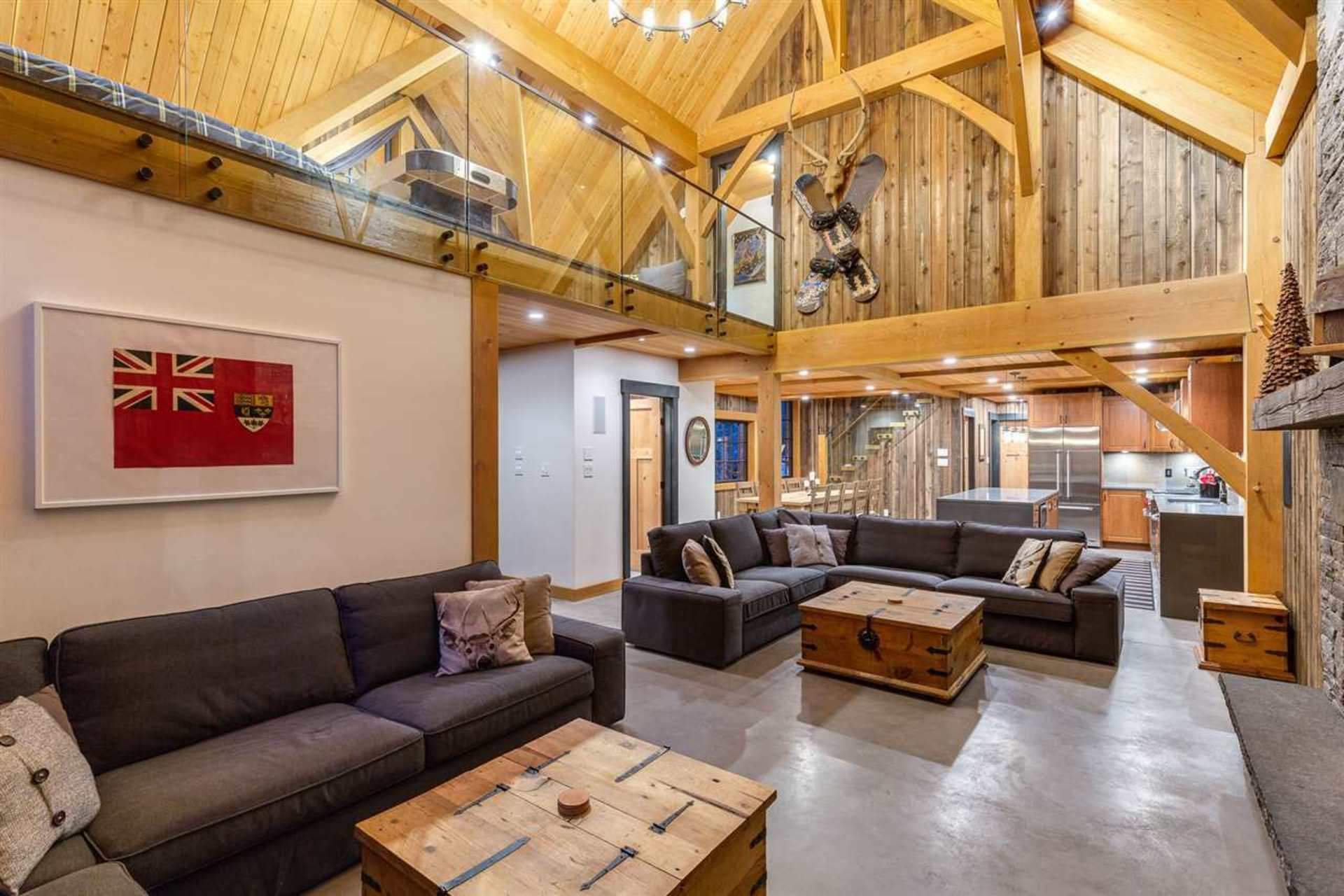 Great Room 2 at 8232 Rainbow Drive, Alpine Meadows, Whistler