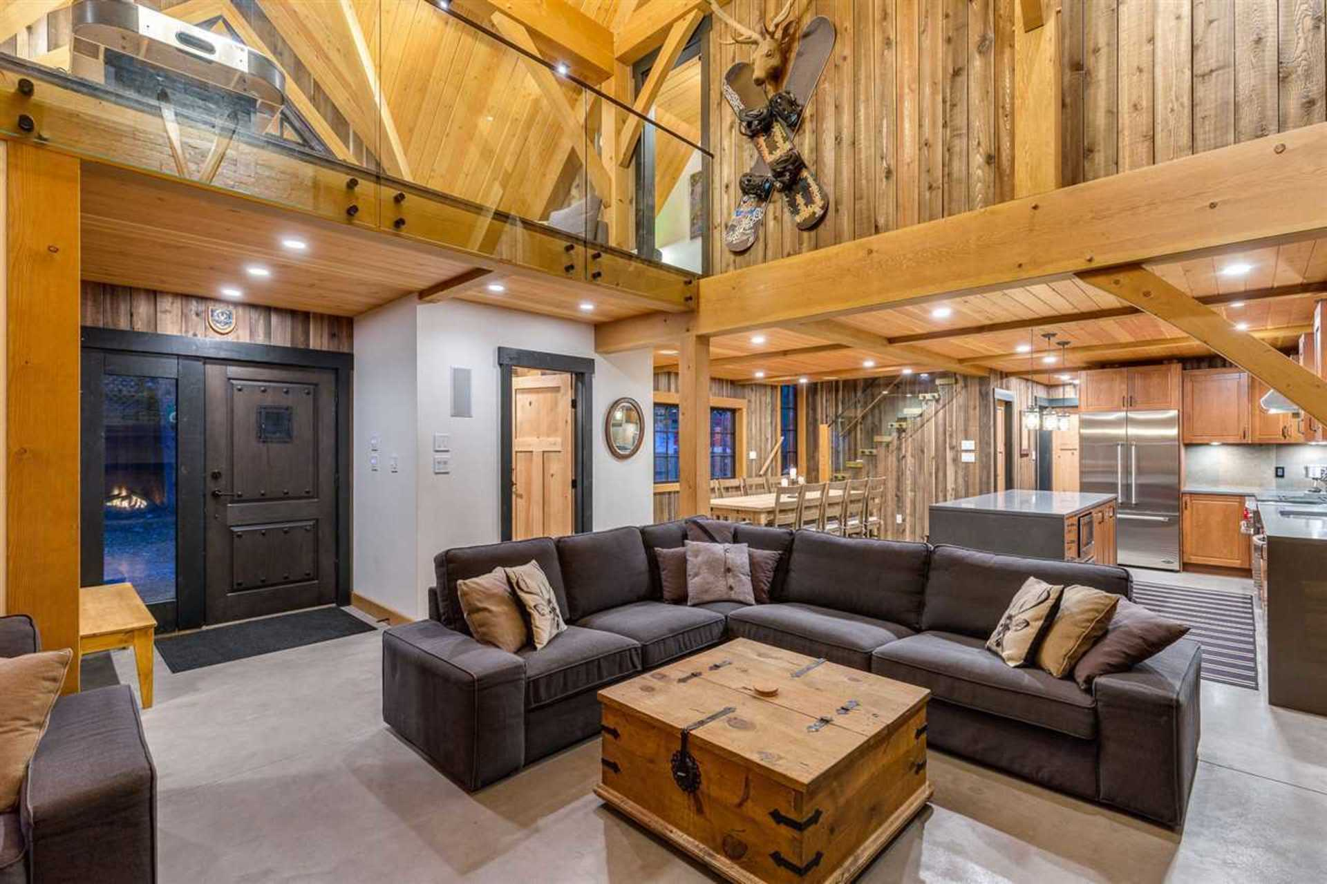 Great Room 3 at 8232 Rainbow Drive, Alpine Meadows, Whistler