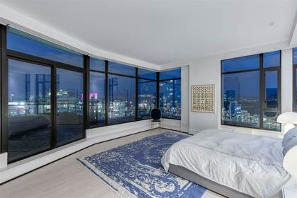 Master Bedroom at PH3801 - 1211 Melville Street, Coal Harbour, Vancouver West
