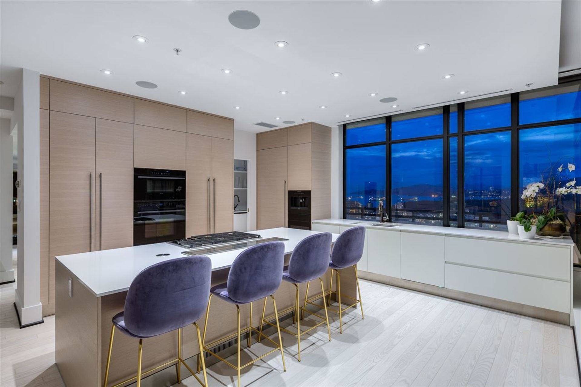 Kitchen at PH3801 - 1211 Melville Street, Coal Harbour, Vancouver West