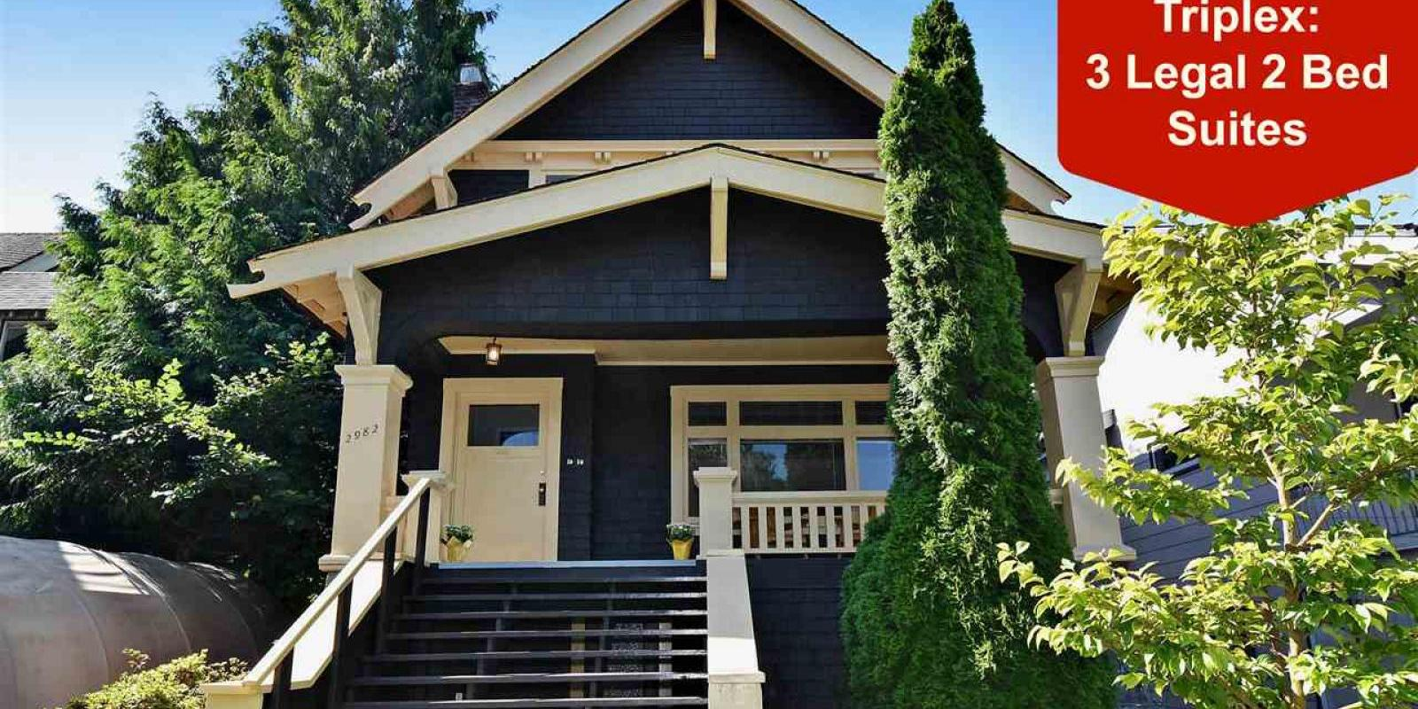 2982 West 3rd Avenue, Kitsilano, Vancouver West
